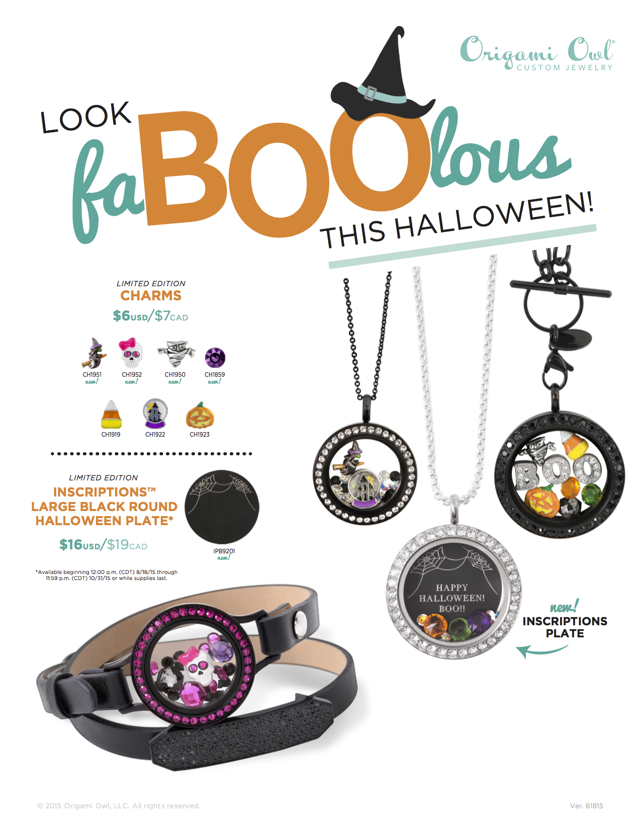 83 Best Origami Owl® Spring/Summer 2015 Collection images ... | 1650x1275