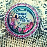 Breast Cancer Awareness Exclusive Jewelry Set at Origami Owl