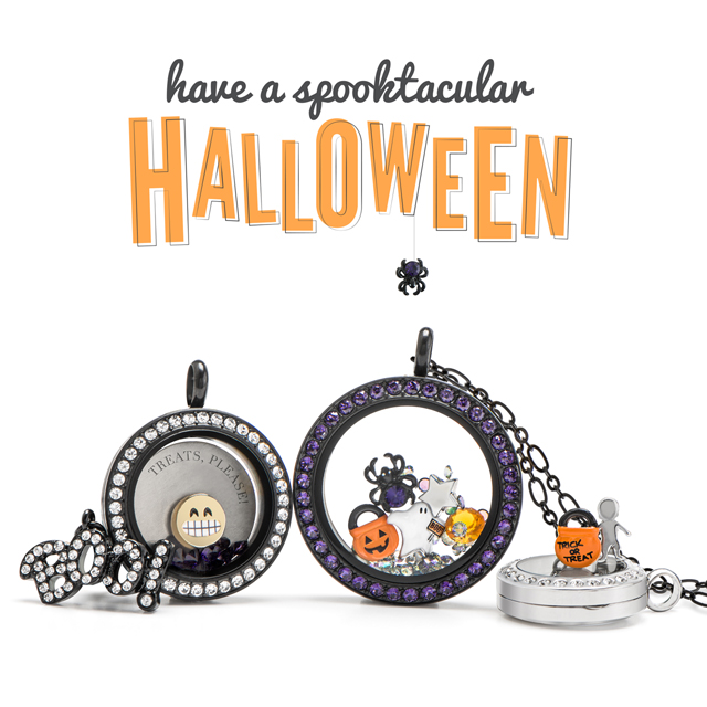 Origami Owl Halloween 2016 Locket Loaded With Charm