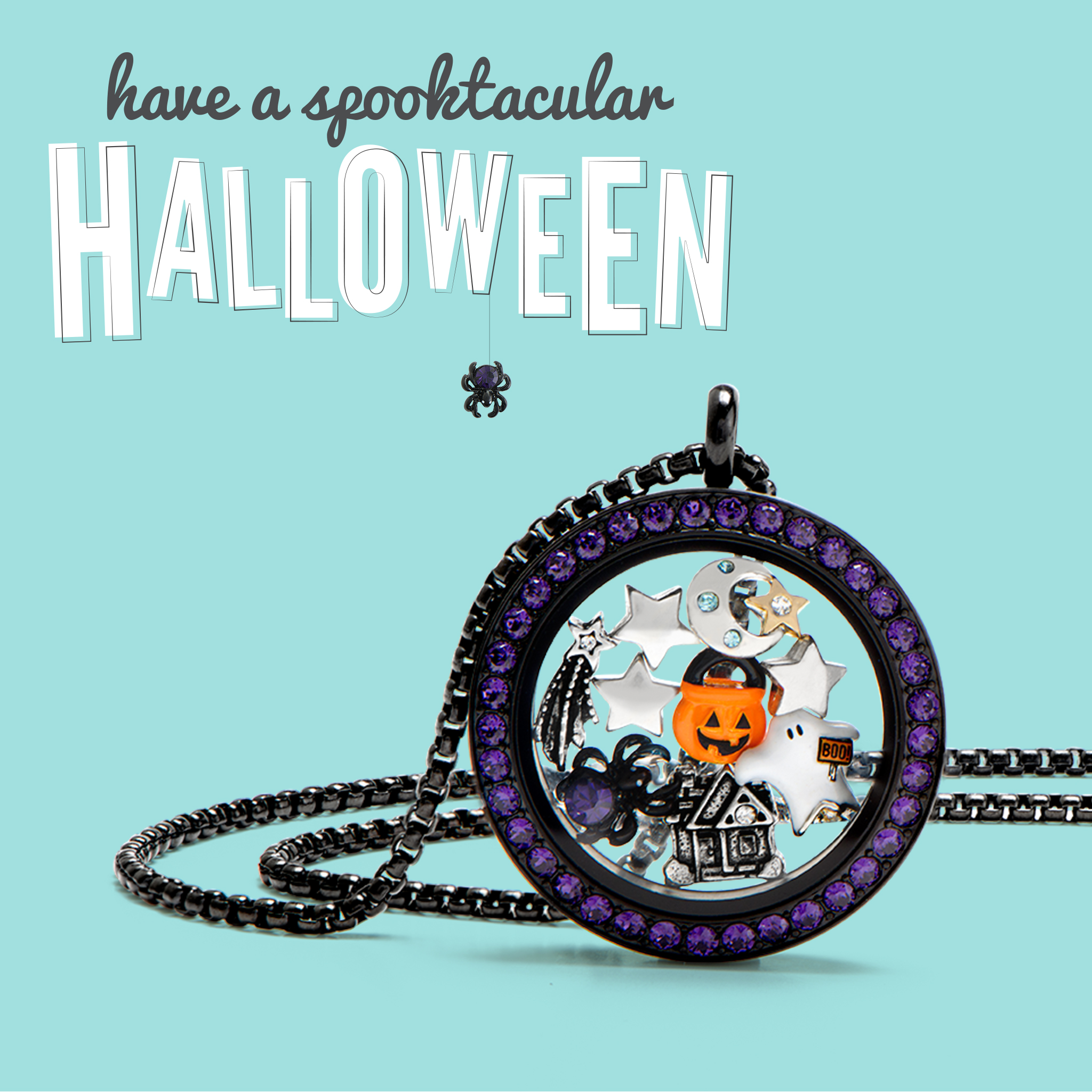 origami owl halloween 2016 locket amp loaded with charm