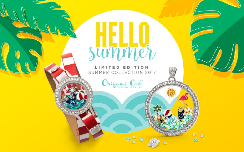 Origami Owl Summer 2017 Limited Edition Collection Locket Loaded