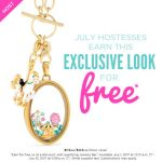 July 2017 Origami Owl Hostess Exclusive