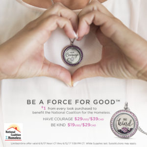 Origami Owl June 2017 Force For Good