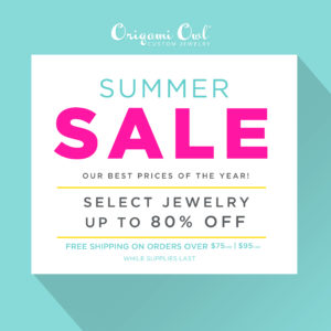 Origami Owl Summer Sale Limited Time