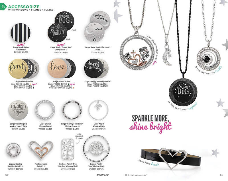 Origami Owl Fall Winter Catalog 2017 Page 26 Locket Loaded With