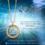 Exclusive Harry Potter for Origami Owl Deathly Hallows Locket