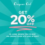 Spend $75 in May and get a 20% off Coupon for June!