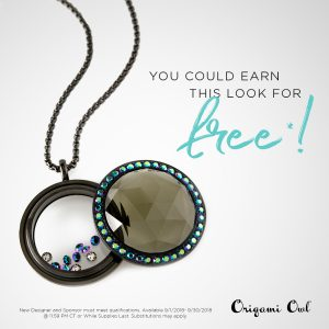 Origami Owl September 2018 Joining Exclusive